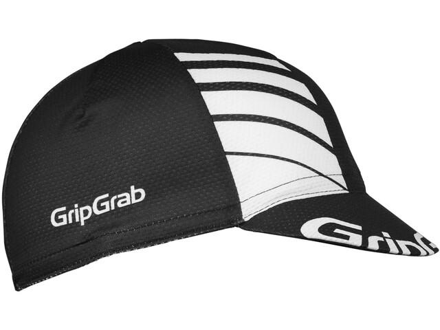 GripGrab Lightweight Zomer Fietspet, zwart/wit
